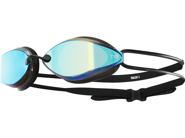 TYR Tracer X-Racing Mirrored Lunettes de protection, gold/black